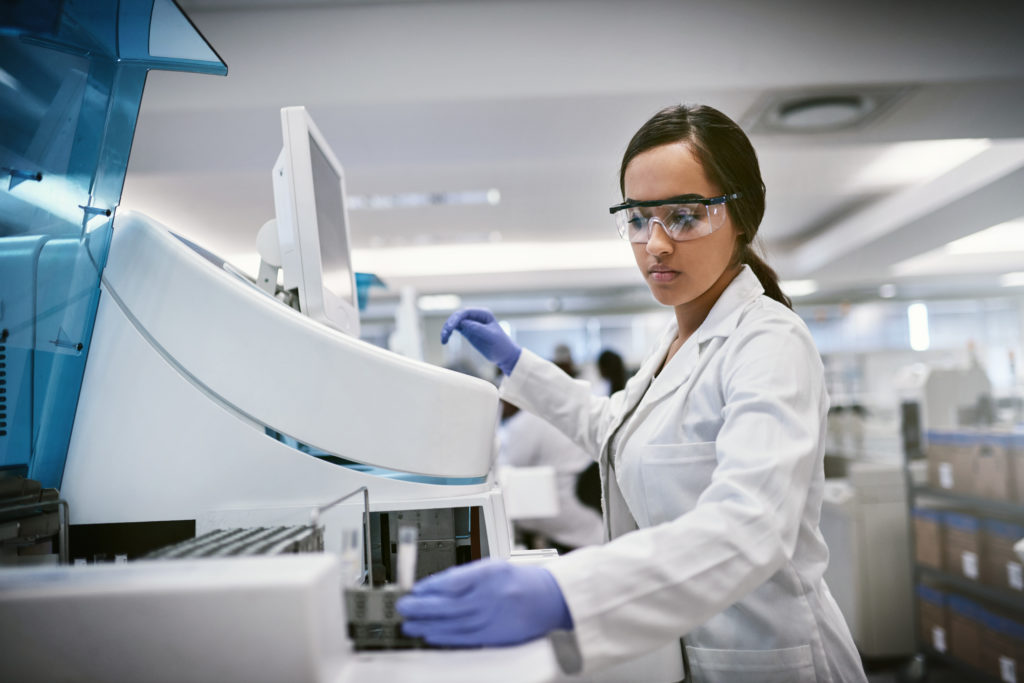 female-doctor-conducting-test-in-laboratory