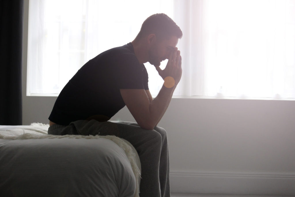 man upset after developing serious complications from taking Truvada®